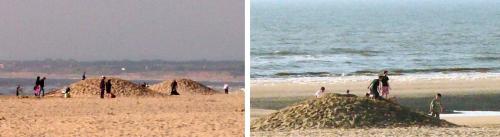 buttes,sable,le touquet