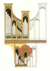 orgue,touquet,chauffage,air pulsé,poussière