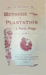 touquet,plantations,bord de mer